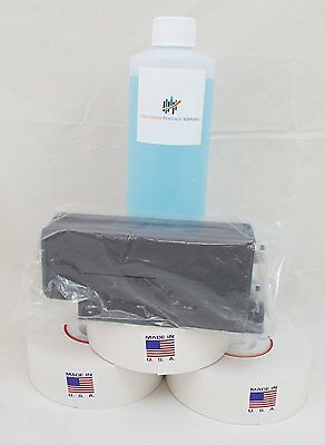 Red Ink Cartridge, Sealing Solution, Meter Rolls, 621-1 Postage Meter Tapes