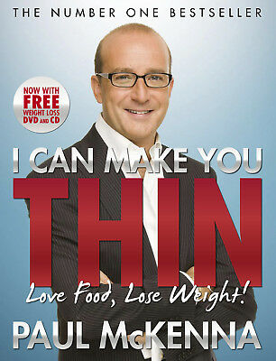 Paul McKenna - I Can Make You Thin - Love Food, Lose Weight (Paperback)