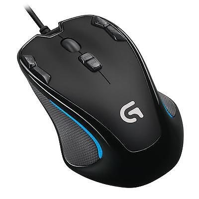 Logitech G300S Optical Gaming Mouse Black for PC Laptop - RRP £39.99