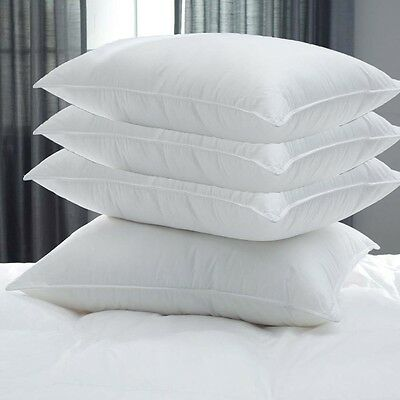 """X4 """"limited Offer"""" Goose Feather And Down Pillows Extra Filling Hotel Qlty Lb4"""