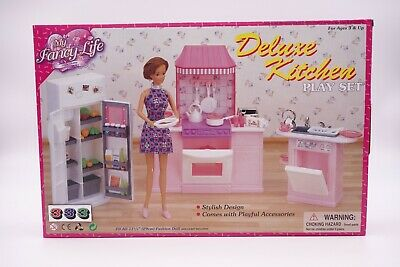 Gloria,Barbie Size Doll Furniture/(9986) My Fancy Life Deluxe Kitchen