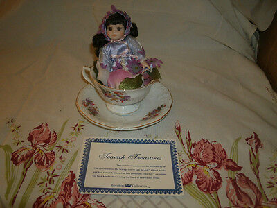 Royalton Collection, Teacup Treasures Porcelain Doll Abby.