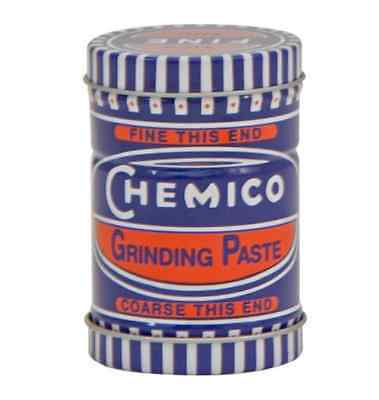 CHEMICO VALVE GRINDING PASTE FINE & COARSE GRADE IN ONE DOUBLE ENDED TIN 100g