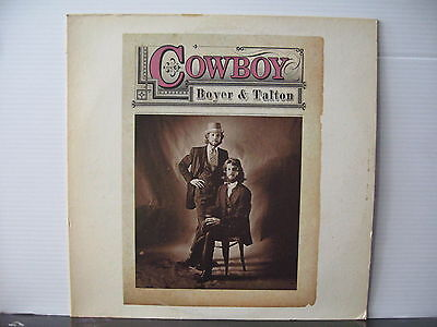 COWBOY Boyer & Talton 1974 CAPRICORN RECORDS VINYL LP Free UK Post