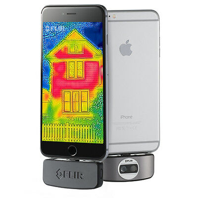 FLIR ONE Infrared Camera Attachment for iPhone iOS Mobile Devices