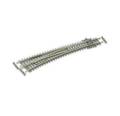 Peco N Scale Code 80 Insulfrog Curved Left Hand Point - #SL387
