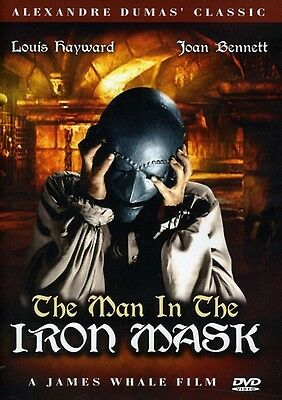 Man in the Iron Mask (2012, DVD NUOVO) BW (REGIONE 1)