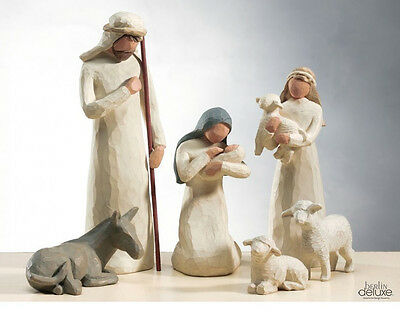 WILLOW TREE Die holy Family SET Nativity NEW/OVP Christmas Crib figures