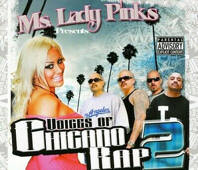 Voices Of Chicano Rap 2 - 3 DISC SET - Ms. Lady Pinks Presents (2011, CD NUOVO)