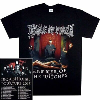 Cradle Of Filth Inquisitional Torture Shirt S M L XL Oficl Metal T-Shirt Tshirt