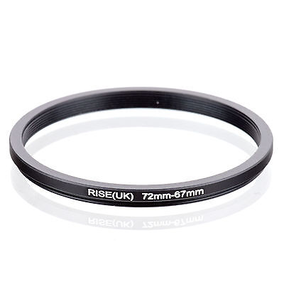 RISE (UK) 72-67MM 72MM-67MM 72 to 67 Step Down Ring Filter Adapter