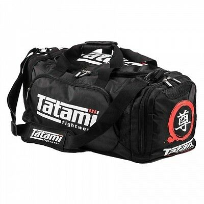 Tatami Meiyo Large Gym Bag Black BJJ MMA Kit Gym Holdall