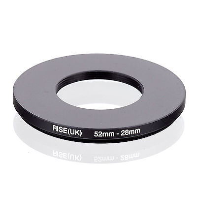 RISE (UK) 52-28MM 52MM-28MM 52 to 28 Step Down Ring Filter Adapter