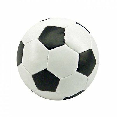 Soft Football, 9 cms, in black and white, Children, Kids, NEW
