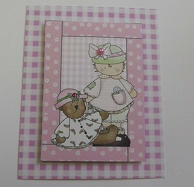PK 3 BEAUTIFUL 3D FRILLY BABY TOPPERS EMBELLISHMENTS FOR CARDS OR CRAFTS SET 2