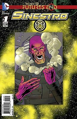 Futures End Sinestro  #1 3D Motion Cover  Bagged & Boarded Pre-Sale 24/09/14