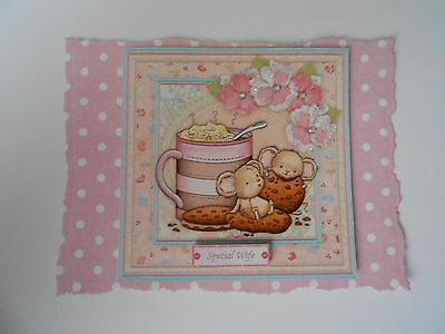 Pack 2 Crumbs Another Year Older Embellishments For Cards/Crafts-Special Wife