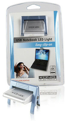 Lampada Luce Per Pc Notebook A Led Usb A Clip Cmp-Usblight40