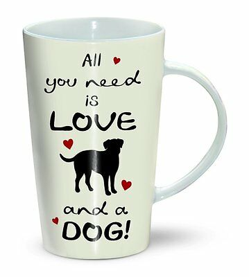 All You need is Love and a Dog - Mug - Becher - Latte