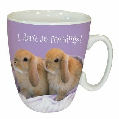 Hasen - I Don´t Do Mornings! - Kaffeebecher - Standard Mug