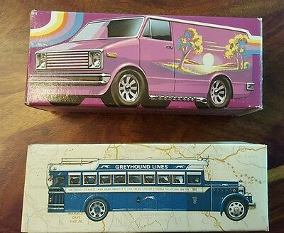 2 Avon collectibles - Vantastic and Greyhound lines