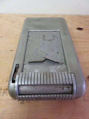 Vintage Moore Mechanical Business Sales Form Register Portable Box and Holder