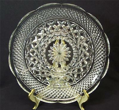 Anchor Hocking Wexford Pattern 5 Part Relish Dish Tray Clear Pressed Glass