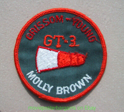 Gemini Gt-3 Space Program Patch Grissom Young