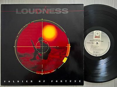 Disco Lp Vinile Loudness - Soldier Of Fortune - 1989 Atco 791283-1 Ger - Nm/ex