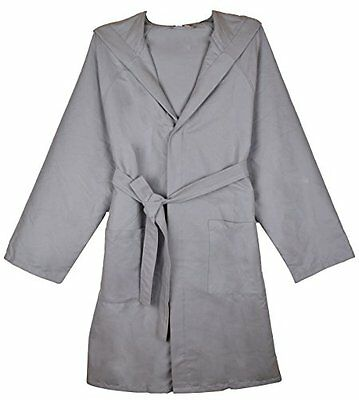 Sunland Microfibre Ultra Absorbent & Fast Drying Hooded Bathrobe Unisex Beach