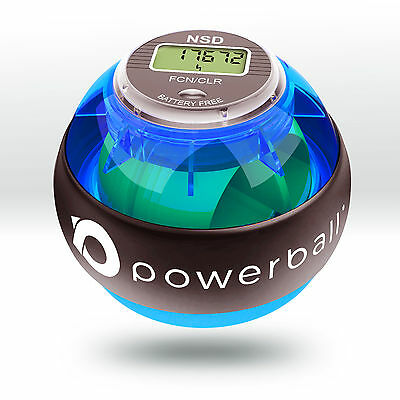 NSD Powerball - **NEW MODEL** 280Hz Pro Blue 'Indestruct-i-ball'