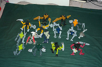 14pc McDonalds LEGO Bionicle Action Figure Meal Toys