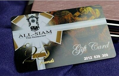 500 Custom Plastic VIP Membership /Gift / Thick Business Cards Printing - Glossy