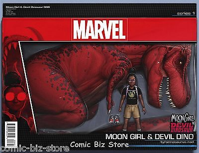 Moon Girl And Devil Dinosaur #8 (2016) 1St Printing Action Figure Variant Cover