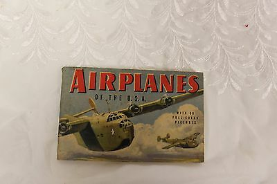 A Guide To Airplanes of the USA By John B Walker 1943 Revised Edition WWII Era