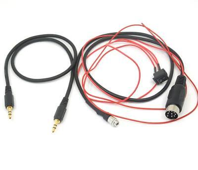 AUX audio cable 8 pin interface For Nissan old Teana JK230 JM230 JK200 2004-2008
