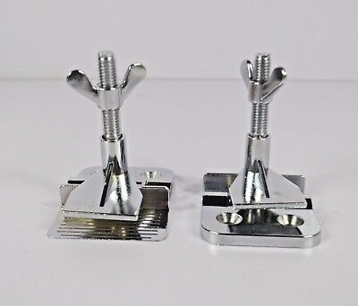 2 pc Screen Printing Butterfly Frame Hinge Clamps DIY Hobby Press Tool Free Ship
