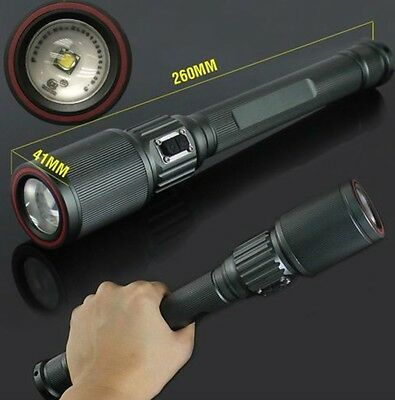 2013 Power Zoom Cree XTL T6 Led 2000LM Flashlight Torch Lamp for 3 x AA Battery