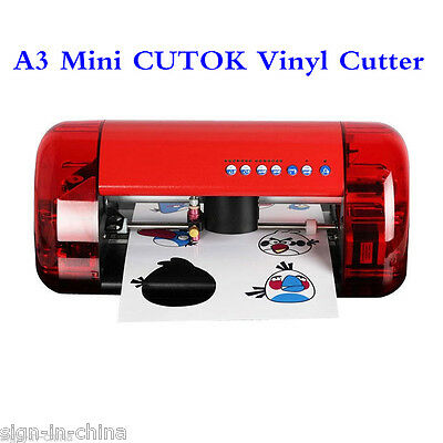 A3 Size CUTOK Vinyl Cutter and Plotter with Contour Cut Function+ 2PCS Gifts