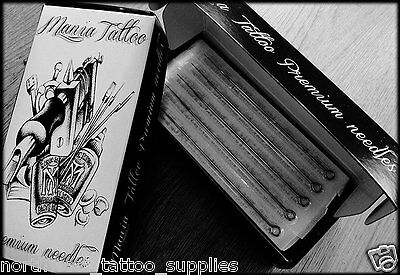 Tattoo liner needles - High grade - Precision made - Sterile - Free postage