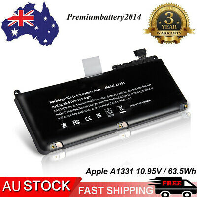 "For Apple MacBook Unibody 13"" A1331 A1342 Late 2009 / Mid 2010 Battery /63.5WH"