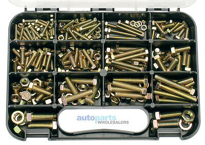 Gj Works High Tensile Metric Bolts & Nuts Grab Kit 236 Pieces Free Aus Postage