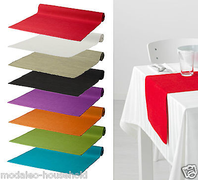 IKEA MÄRIT Marit 130x35cm Polyester, Cotton Table Runner with Colour Choice-B111