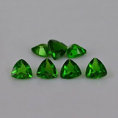 Natural Chrome Diopside Trilliobn Calibrated Size 3mm - 6mm Top Quality Gemstone
