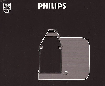 1x PHILIPS GP Fabric Black -DATA-  S/RC31 Nylon Farbband Kassette GP 300, etc.