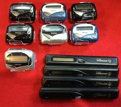 Pager BONANZA 11 pagers Motorola Pen Pager Flashpage PS200 NEW-USED