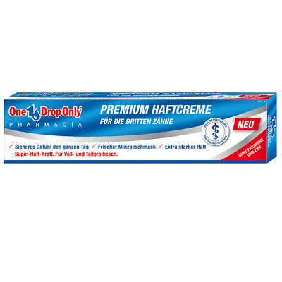 One Drop Only Premium Haftcreme 40g, 6er Pack (6x 40g)