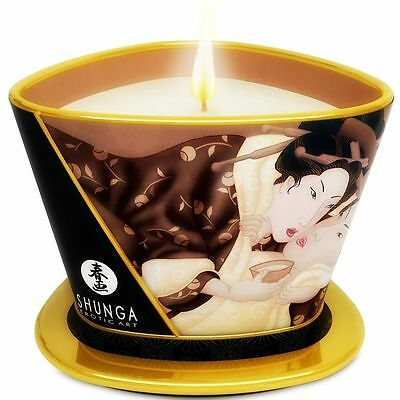 Masaje SHUNGA MINI CARESS BY CANDELIGHT VELA MASAJE CHOCOLATE 170ML
