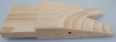 JEWELER'S Wooden Pin for Bench Clamp 5-1/2-Inch by 2-Inch HARDWOOD