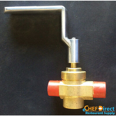 Replacement Control Valve And Aluminum Handle For Chinese Wok Range Wr-Gv